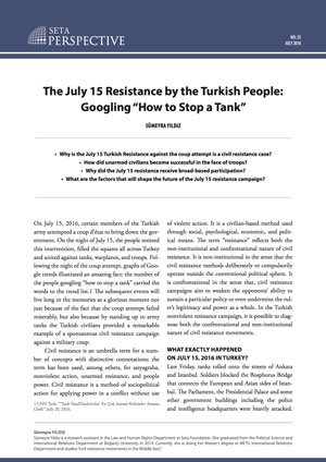Perspective: Main Tenets of a Failed Coup Attempt